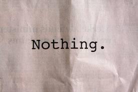 niets