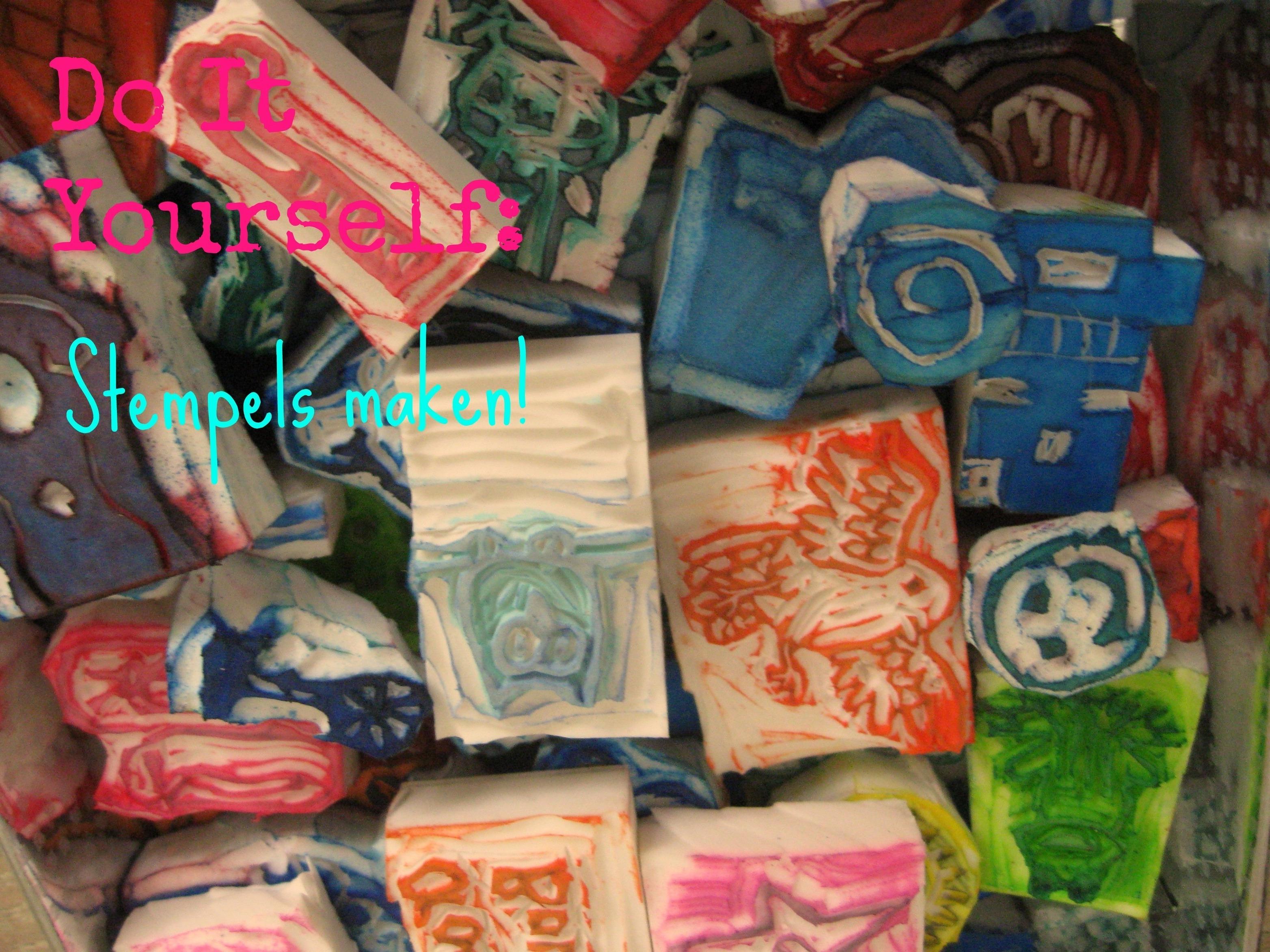 Fonkelnieuw DIY: Je eigen stempels maken! | Eline's Blog EH-27