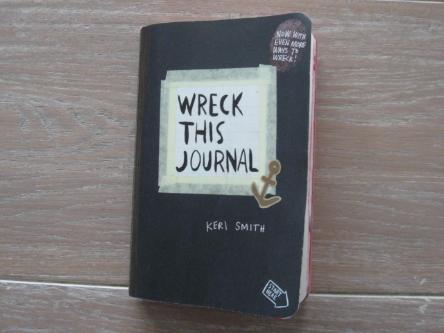 wreck this journal 001